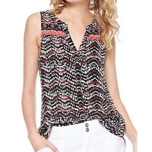 Sanctuary printed woven top M